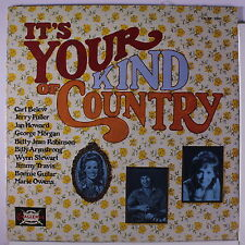 VARIOUS: It's Your Kind Of Country LP Sealed (Wynn Stewart, etc) Country