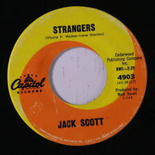 JACK SCOTT: Strangers / Laugh And The World Laughs With You 45 Oldies