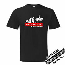 Evolution Horse Riding T-S Top S-XXL Body Building Weight Training Pony