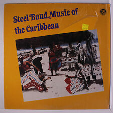 NITE BLUES STEEL BAND: Steel Band Music Of The Caribbean LP (disc close to M-,