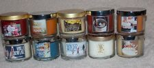 5 Bath Body Works CHOOSE YOUR SCENT Scented Mini Candles 1.3 oz New