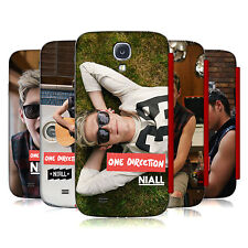 OFFICIAL 1D NIALL HORAN PHOTO RED FLIP CASE COVER FOR SAMSUNG GALAXY S4 I9500