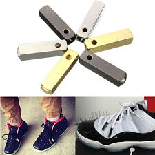 4x Metal Aglet Shoelace Tips Replacement Shoes for Yeezy Style w/ Screwdriver