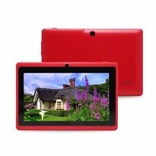 """8GB 7"""" Google Android 4.4 Tablet PC for Kids Children Dual Cameras WiFi Colors"""