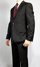 "Hugo Boss Black Tapered Cut Suit Model ""Paolini/Movie"" Sizes 36S to 44S"