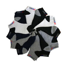 Boy's  Socks Cotton Blend USA Socks Three Pairs in a Pack Size 6-8