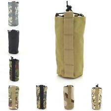 Tactical Water Bottle Bag Open Top Water Kettle Pouch Military EDC Bag Day Pack