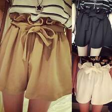 2015 Fashion Women Sexy Hot Pants Summer Casual Shorts High Waist Loose Shorts