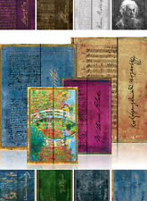 PAPERBLANKS TACCUINO scrittura manuale a6 a5 a4 Monet Einstein Blake Winehouse e molto altro