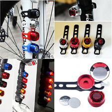 Sale Cabinet Bike Bicycle Helmet Red LED Rear Light 3 Modes Safety Tail Lamp