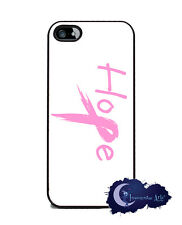 Hope Breast Cancer Pink Ribbon - Case for iPhone 5 & 5s, Cell Phone Cover