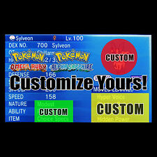 Breed Your Custom Perfect Pokemon - Pokemon Omega Ruby Alpha Sapphire ORAS X Y