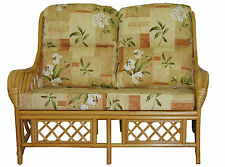Gilda New Cane SOFA Cushions / Covers Only Wicker Rattan Conservatory Furniture