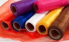 Organza Fabric Roll 9 Metres Long 40cm Wide Sheer Voile Smithers Oasis Weddings