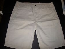 New Levis Levi's Levi Strauss shorts light khaki chino long jeans sz 36