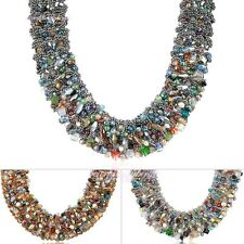 New Fashion Necklace Hand Weaved Crystal Beads Braid Choker Bohemian N1361N1363