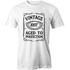 19th Birthday VINTAGE Aged to Perfection T-shirt 19 yo BDAY Gift Idea 1997 Funny