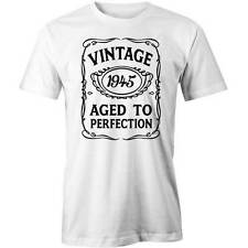 71st Birthday VINTAGE Aged to Perfection T-shirt 71 yo BDAY Gift Idea 1945 Funny