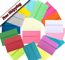 Multi Color Assorted Envelopes / Invitation Greeting Cards Announcement A2 A6 A7