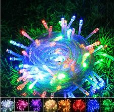 Multicolor AA Battery Power Operated 10-80 LED Fairy Light Xmas Party Decoration