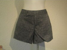CALVIN KLEIN SPRING COLLECTION 5 POCKET MICRO PLAID SHORTS