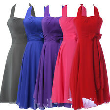 2015 SALE SEMI Party Short Prom Grad Formal Evening Bridesmaid Summer Dress Gown
