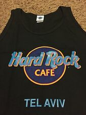 VTG 1993 Hard Rock Cafe Tel Aviv Tank Top Shirt Rare Pin Casino Jerusalem Israel