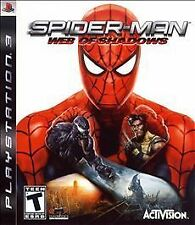 SONY PLAYSTATION 3 PS3 SPIDERMAN SPIDER-MAN WEB OF SHADOWS VIDEO GAME COMPLETE
