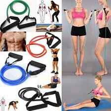 Exercise Resistance Bands Set Yoga Fitness Workout Stretch Heavy Duty Tubes New