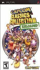 Capcom Classics Collection: Reloaded (Sony PSP) Complete -
