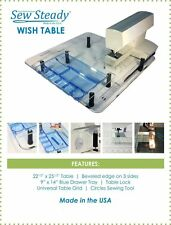 Sew Steady Ultimate Wish Extension Table PACKAGE to fit  VIKING Sewing Machines