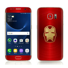 POP SKIN Skin Decal Sticker Avengers Iron Man For Samsung Galaxy S7 S6 Edge