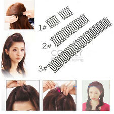 Invisible Black Hairpin Bang Fringe Hair Comb Clip Bobby Pin Clamp Styling Tool