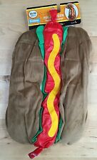 Dog Halloween Costume, Hot Dog. Fetchwear New with Tags, L, M, S, XS, XXS