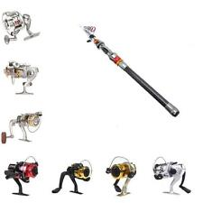 Optional 6BB/3BB Fishing Spinning Reel/2.7M Spinning Rod Pole High Quality LS