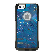 OtterBox Commuter for iPhone 5S SE 6 6S 7 Plus Blue Circuit Board