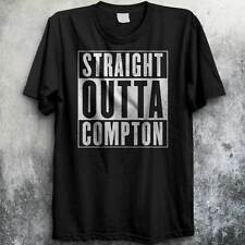 Straight Outta Compton NWA T-Shirt Rap Gangsta LA Hip Hop Ice Cube Dr Dre NEW
