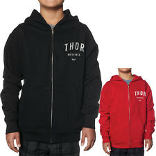 Thor MX Shop Zip Up Sweatshirt Jacket Kids Boys Youth Hoody