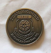 US Air Force 62d Airlift Wing Team McChord Enduring Freedom Challenge Coin
