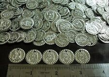 Hip Scarf Belt Beads Coins Beads Silver Brass King Tut Handmade Belly Dance
