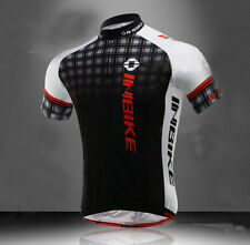 Summer Men Cycling Jersey Top Breathable Bicycle Clothing Cycle Bike T-shirt BLK