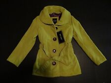 Girl's Me Jane Green Long Sleeve Trench Coat Winter Jacket Size: S, L, & XL SALE