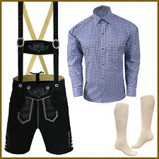 Oktoberfest Lederhosen Package / Set German Bavarian Trachten Short Outfit - D99