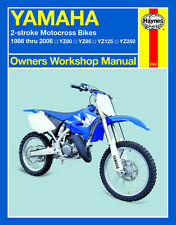 Yamaha 2-Stroke Motorcross Bikes Repair Manual YZ80, YZ85, YZ125, YZ250 1986-06