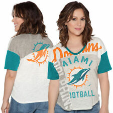 Miami Dolphins Touch by Alyssa Milano Women's Touch Power Play T-Shirt - NFL