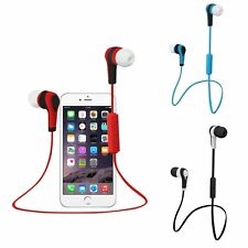 SPORT Wireless Bluetooth Headset Stereo Headphone Earphone for iPhone Samsung