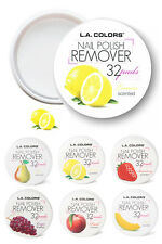 Pack of 2 L.A. COLORS Nail Polish Remover Pads - Acetone Free - Fruit Scent