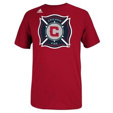 Chicago Fire Adidas MLS Primary Logo Men's Red T-Shirt