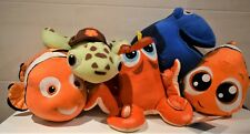DISNEY FINDING NEMO FILM SOFT TOY CHARACTERS SQUIRT NEMO  or DORY