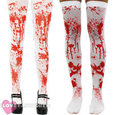 BLOODSTAINED TIGHTS OR STOCKINGS LADIES  HALLOWEEN FANCY DRESS COSTUME ACCESSORY